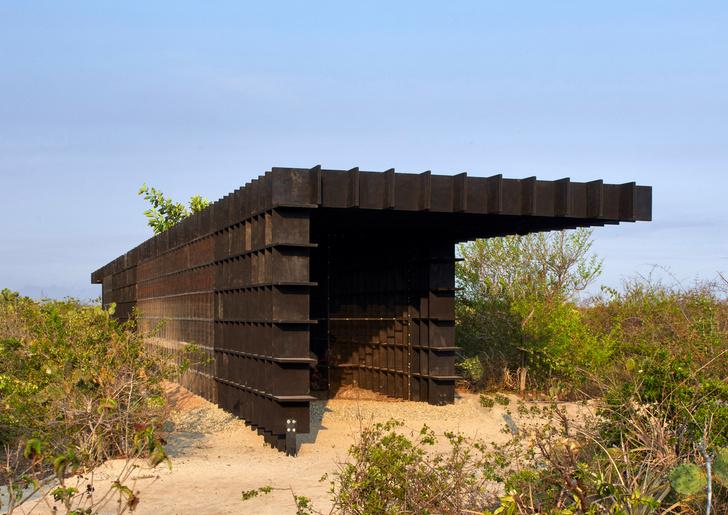 Фото №7 - Курятник по проекту Кенго Кумы в Мексике
