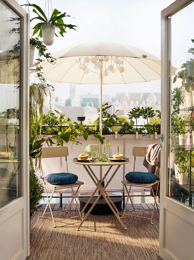 Фото №3 - Маленький балкон: полезные советы по оформлению