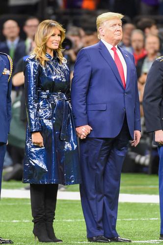 Фото №2 - Лучшие образы Мелании Трамп в 2020 году