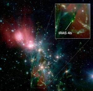 Фото №1 - Вода внутри формирующейся звездной системы