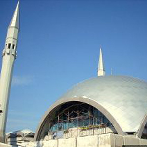 Фото №1 - Мечеть в стиле хай-тек