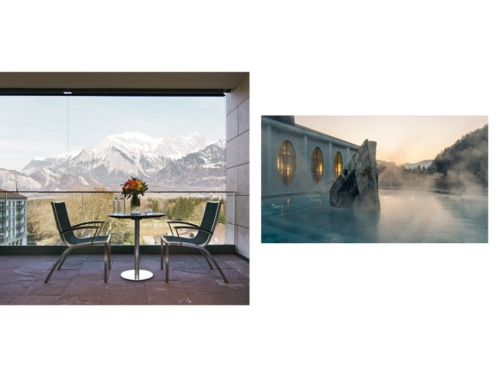Фото №3 - Молодость внутри и снаружи: велнес-программа в Grand Resort Bad Ragaz, которая замедляет время