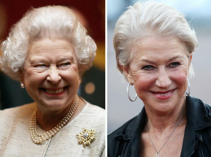Фото №1 - Какой конфуз случился с Хелен Миррен во время чаепития с Королевой