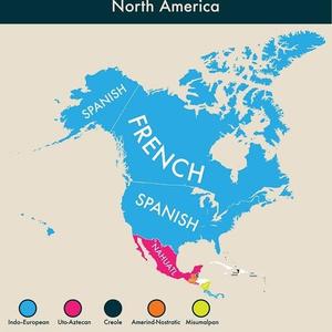 Фото №3 - Карта: второй по популярности язык в разных странах мира
