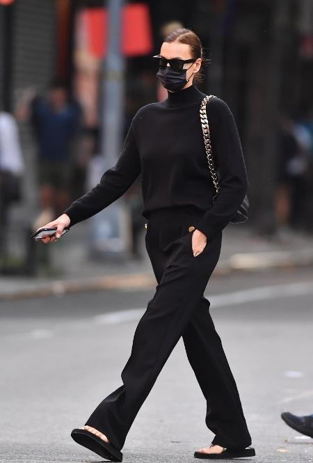 Ирина Шейк в Нью-Йорке