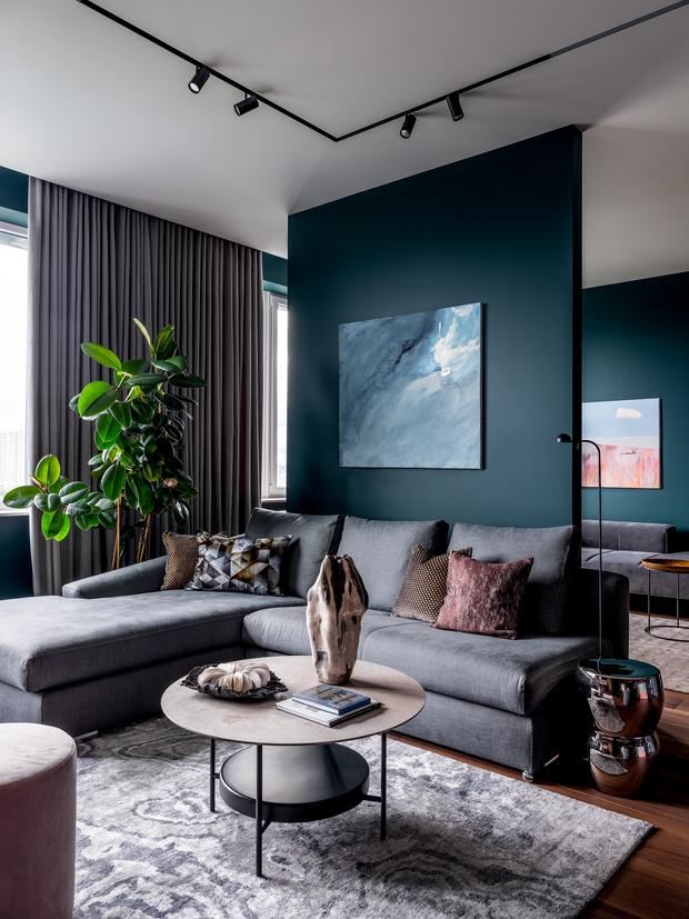 Фото №1 - Современная квартира со свободной планировкой 120 м²