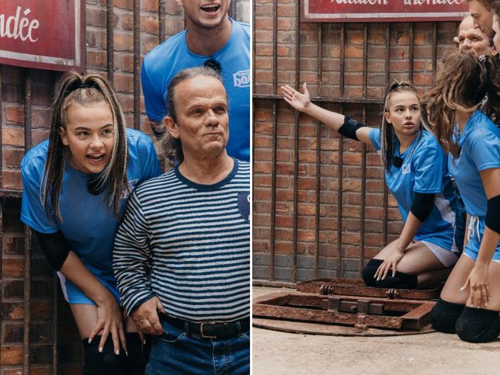 Фото №2 - Про скорпионов, клещей и другие ужасы: Валя Карнавал— о съемках в шоу «Форт Боярд»