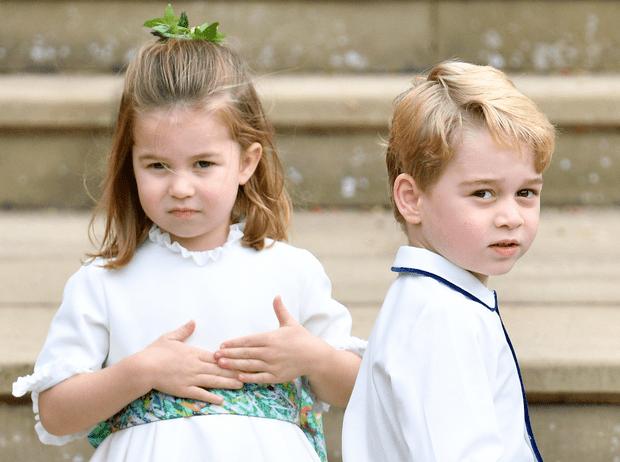 Фото №1 - Как будут выглядеть Джордж, Шарлотта и Арчи Сассекский через 20 лет (версии поклонников)
