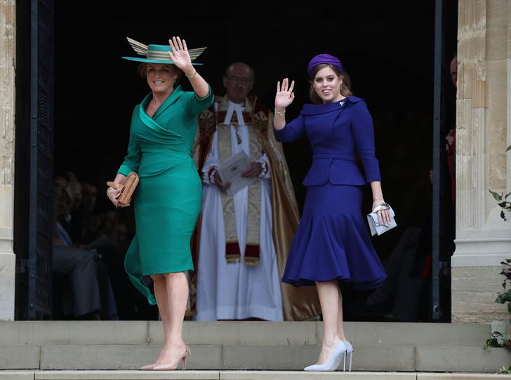 Фото №35 - Свадьба принцессы Евгении и Джека Бруксбэнка