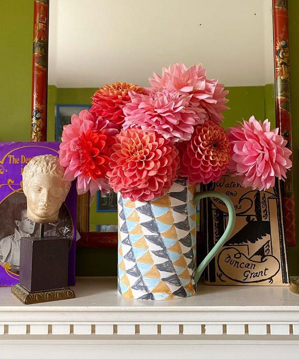 Осенние букеты из георгинов: лучшее в Instagram
