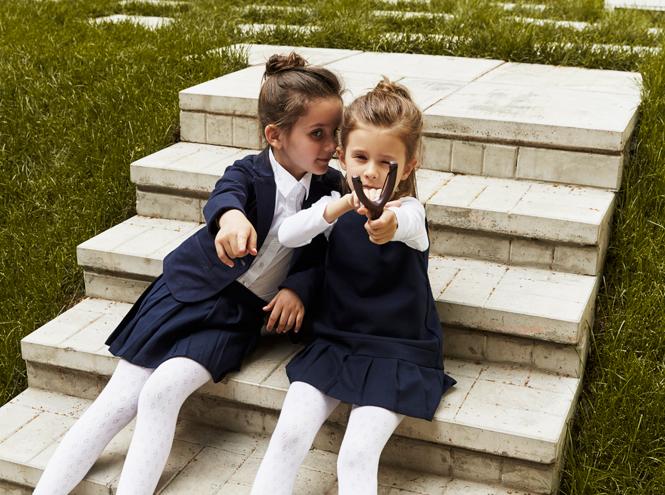 Фото №4 - Артём, Яна и Арсений Аршавины в рекламе школьной формы H&M