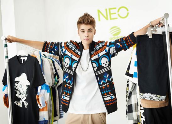 Фото №1 - Джастин Бибер стал лицом Adidas NEO label