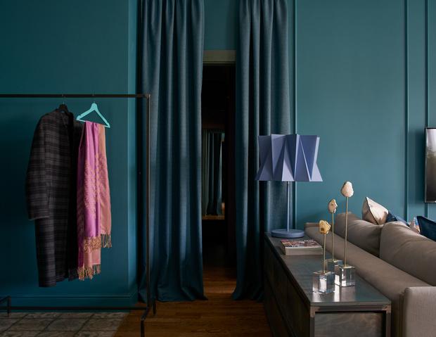 Фото №6 - Синяя квартира 53 м² в Екатеринбурге
