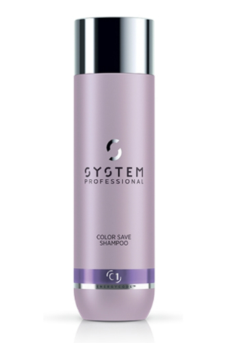 Шампунь для защиты цвета окрашенных волос Color Save C1 от System Professional