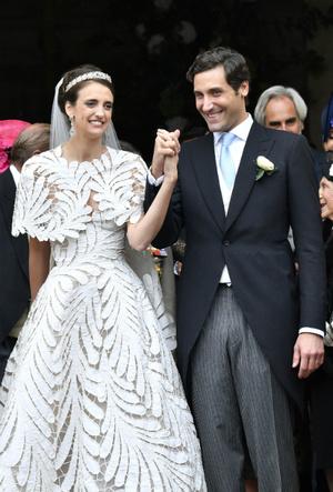 Фото №16 - 10 самых стильных звездных свадеб 2019 года