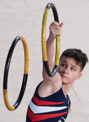 Фото №2 - Мальчики со скакалками: в Москве прошли первые соревнования по художественной гимнастике для юношей