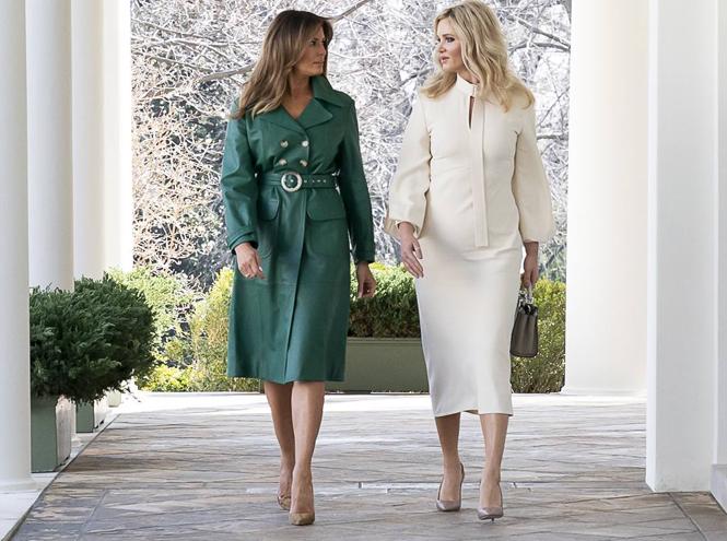 Фото №2 - Кто оплачивает гардероб Мелании Трамп?