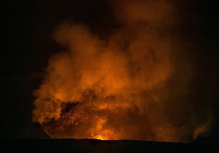 Фото №1 - Как появились гавайские вулканы