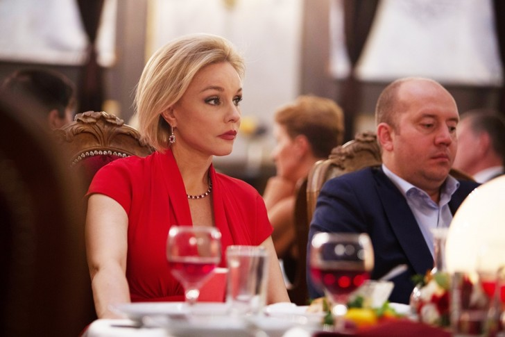 Марина Зудина и Сергей Бурунов
