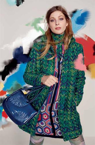 Фото №2 - Модная эклектика в новой осенне-зимней коллекции Desigual