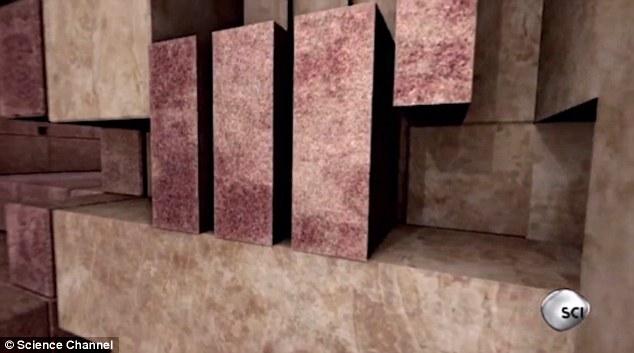 Фото №2 - Египтологи объяснили устройство системы защиты от воров в пирамиде Хеопса