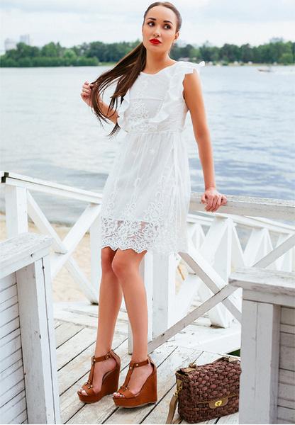 Фото №6 - Тренд лета: как носить платье в крестьянском стиле