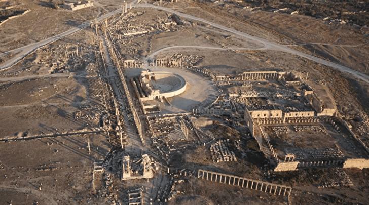 Фото №1 - 3D-модель древней Пальмиры доступна онлайн