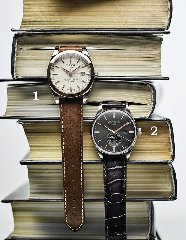 Фото №1 - Игра в классику: 5 наручных часов в классическом стиле