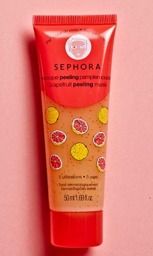 Маска для лица с грейпфрутом, Sephora.