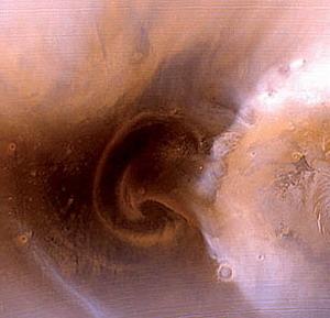 Фото №1 - Пылевая буря на Марсе продлится несколько месяцев