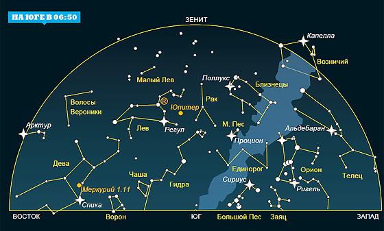 Фото №2 - Ночное небо: на что посмотреть в ноябре