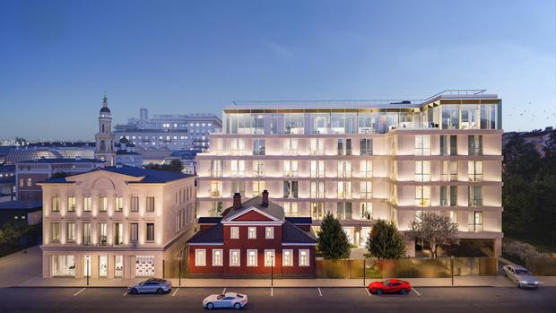 Фото №1 - В Москве появится жилой комплекс с интерьерами Armani/Casa