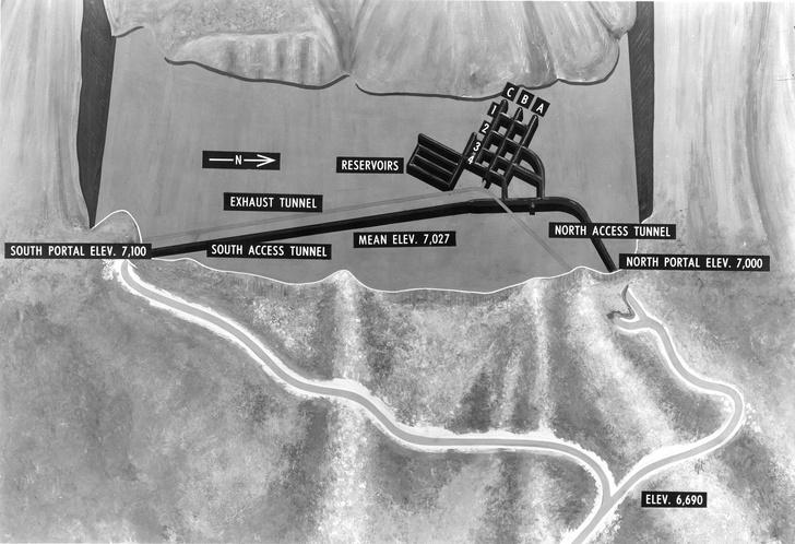 Фото №3 - Бункер Судного дня: комплекс воздушно-космической обороны США, спрятанный в горе