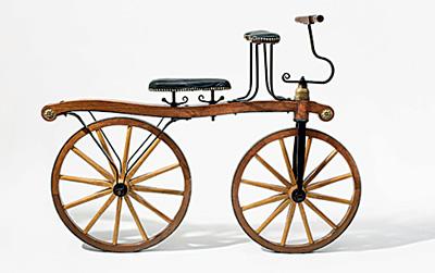 Фото №1 - Колесо раздора: как придумывали велосипед