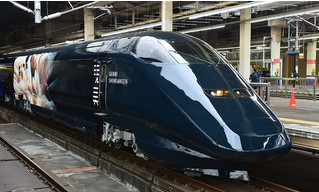 Японский музей разместил экспозицию в скоростном поезде