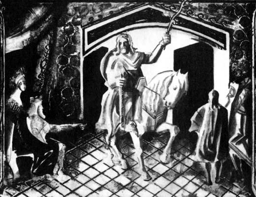 Фото №1 - Приключения короля Артура и рыцарей Круглого Стола
