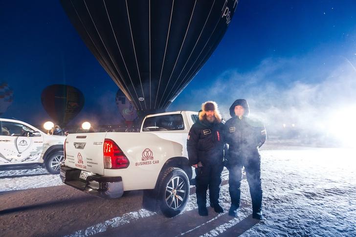 Фото №1 - Федор Конюхов и Toyota Hilux: один полет, два путешественника, три рекорда
