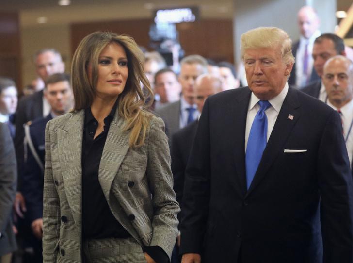Фото №2 - Развод или временные трудности: что происходит между Меланией и Дональдом Трампом