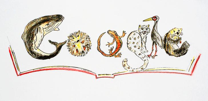 Фото №5 - «Дудл для Google — 2015»: 30 лучших рисунков