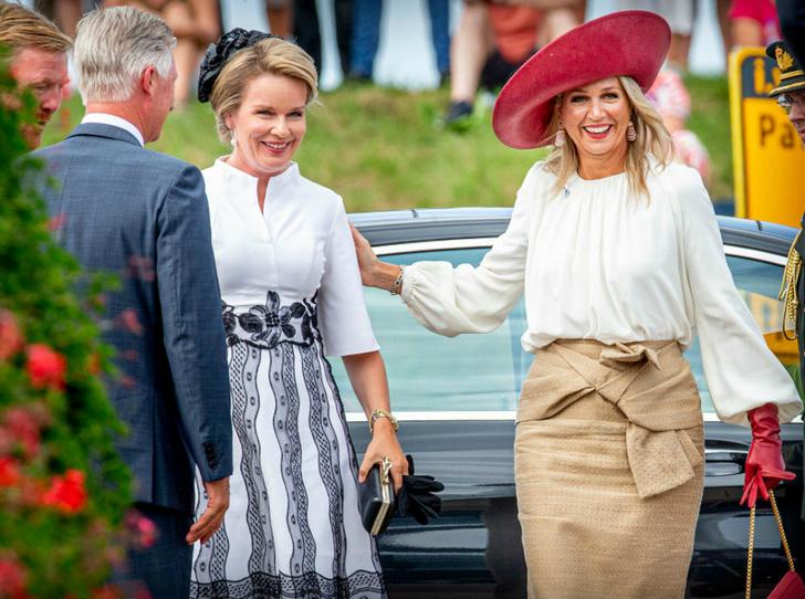 Фото №1 - Королева Нидерландов и королева Бельгии выступили вместе на особом праздновании
