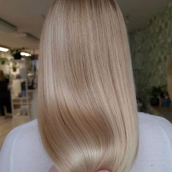 Фото №6 - Glass hair: как сделать себе волосы как у Ким Кардашьян
