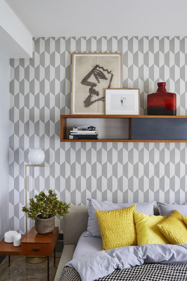 Фото №19 - Стена над изголовьем кровати: 10 идей декора