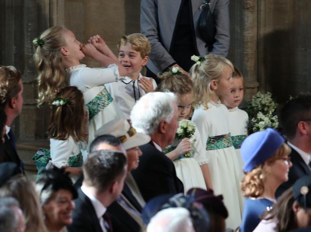 Фото №14 - Интересные факты о свадьбе принцессы Евгении и Джека Бруксбэнка