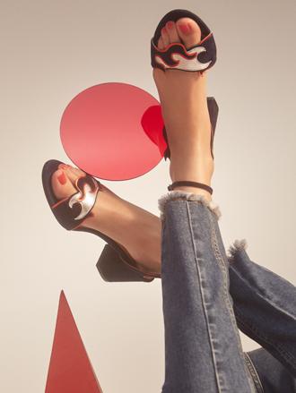 Фото №12 - Тренды весны в новой коллекции сумок и обуви Sandro SS17