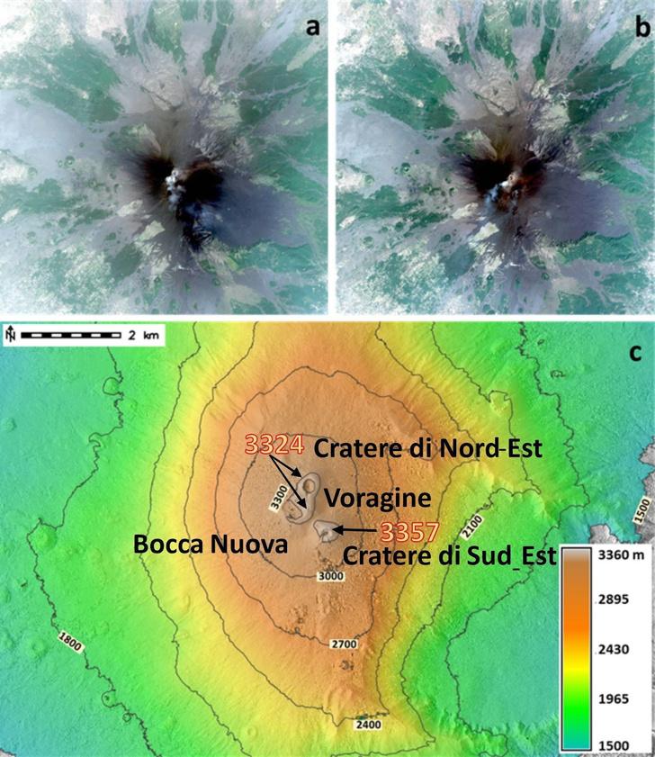 Фото №2 - Вулкан Этна «вырос» до 3357 метров