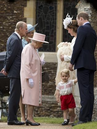 Фото №5 - Первые официальные фото с крестин принцессы Шарлотты