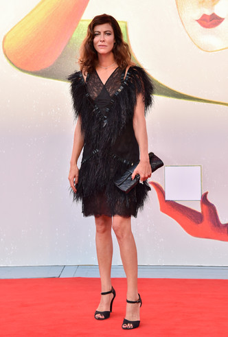 Фото №21 - Модная Венеция-2018: лучшие образы восьмого дня кинофестиваля