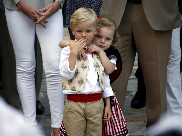 Фото №51 - Принц Жак и принцесса Габриэлла: четвертый год в фотографиях