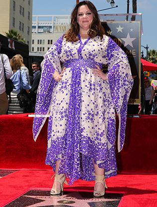 Фото №4 - Мелисса МакКарти удостоена звезды на Аллее cлавы