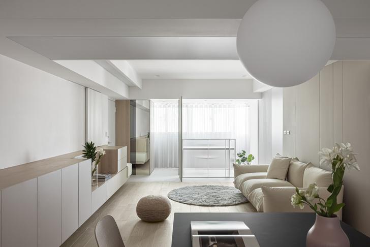 Фото №2 - Квартира с минималистичным интерьером на Тайване